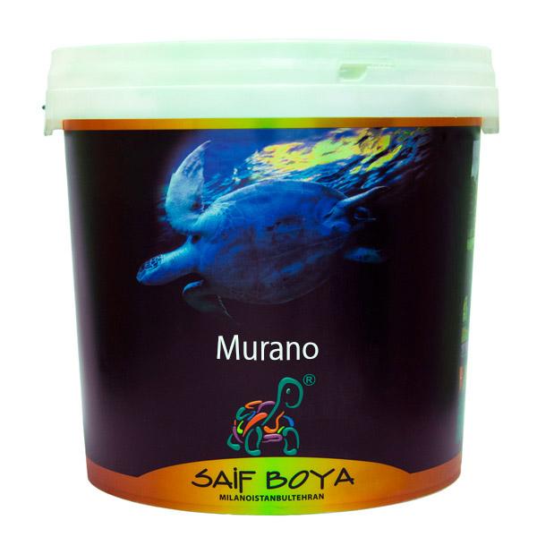 رنگ اکریلیک داخلی مات سیلیکونی Murano